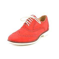 Ital-Design - Zapatos Planos con Cordones Mujer , color rojo, talla 37 EU