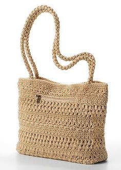 Croft & Barrow Crochet Tote