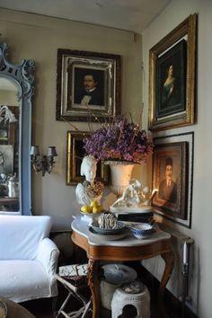 ZsaZsa Bellagio – Like No Other: House Beautiful English Cottage Style, English Country Decor, English House, English Manor, English Style, French Style, French Country, Beautiful Interiors, Beautiful Homes