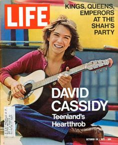 I was suppose to marry David Cassidy. Every girls heartthrob in the 70's.