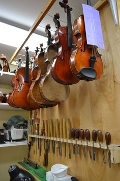 Instruments waiting for repairs