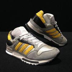 4c6a5eb6d3350 Adidas Originals Rom Trainers UK Size 9 Grey Red Suede Rare CW V22784 | eBay
