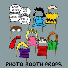 Peanuts Photo Booth Props by EasyPartyPeople on Etsy Snoopy Party, Snoopy Birthday, 40th Birthday, Birthday Ideas, Birthday Parties, Charlie Brown Thanksgiving, Great Pumpkin Charlie Brown, Charlie Brown And Snoopy, Peanuts Christmas