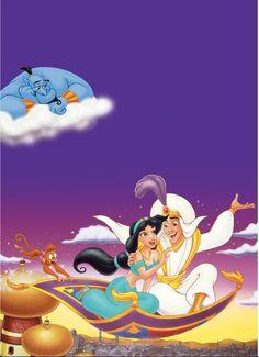 Princess Jasmine and Aladdin's Whole New World