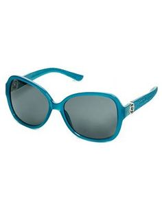d18cff72b3 Textured Oversized Oval Sunglasses at Guess