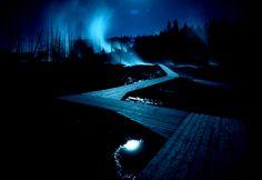Norris Geyser Basin - Wyoming - Sam Abell