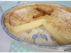 Creamy milk tart Halal Recipes, Milk Recipes, Baking Recipes, Flour Recipes, Bread Recipes, Custard Recipes, Tart Recipes, Sweet Recipes, Cheesecake Recipes