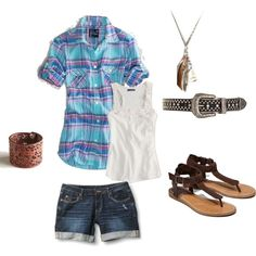 My outfit for B/Scott's country party