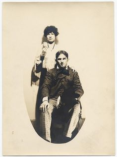 Alexander Brook and Betty Spencer by Smithsonian Institution, via Flickr