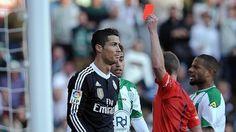 Cristiano Ronaldo, dos partidos de sanción http://w.abc.es/7jkslb