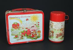 Strawberry Shortcake Lunchbox (1980)