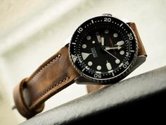 Leather strap on a Diver...got any? - Page 310