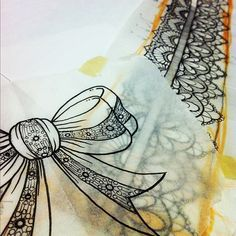 Lace drawings garter tattoo designs | ... thinking about tattooing this, haha. On deck for Friday, lace garter