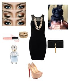 """""""Destiny #1"""" by washingtonashley ❤ liked on Polyvore featuring Accessorize, Tiger of Sweden, Christian Louboutin, Yves Saint Laurent, Sissy Yates, Butter London and Marc Jacobs"""