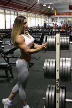 A perfect example of how sexy bodybuilding for women can be!