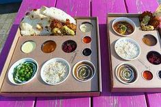 A Railway Tray from The Chilli Pickle Canteen 17 Things Everyone Must Eat In Brighton Brighton Food, Brighton England, Brighton And Hove, Seaside Shops, Artisan Pizza, Voyage Europe, Sunday Roast, Eurotrip, Fish Dishes