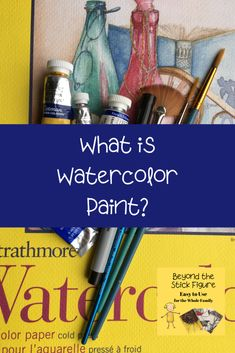 What is Watercolor Paint? - Beyond the Stick Figure The Learning Experience, Learning To Drive, Artists For Kids, Art For Kids, Music Lessons, Art Lessons, Mom Series, Poster Paint, Stick Figures