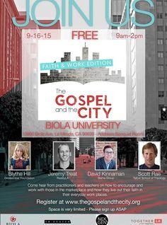 The Gospel and the City: Faith and Work