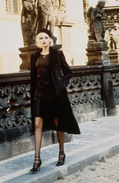 Nadja Auermann, by Helmut Newton...Parisian chic