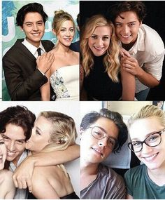 #bughead #liliandcole They are so cute together ☺️ Lili Reinhart and Cole Sprouse