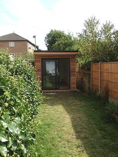 View the details and specification of the Crusoe Garden Rooms Crusoe Compact Garden building. A wonderfully discreet way to add value and space to your home. Garden Office, Garden Buildings, Wooden Garden, Compact, Shed, Rooms, Outdoor Structures, Space, Create
