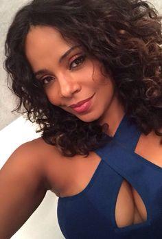 Sanaa lathan is totally beautiful Sanaa Lathan, Beautiful Black Women, Simply Beautiful, Dead Gorgeous, Curly Hair Styles, Natural Hair Styles, Natural Beauty, Nia Long, Black Actresses