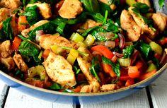 kurczak, kurczak przepisy, przepisy na kurczaka, obiad, obiad przepis, szybki obiad, szybki obiad ptrzepis