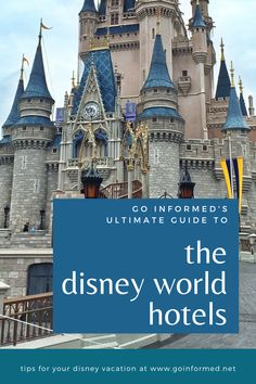 Learn how to find your perfect Disney World hotel in this guide to all the on-site resorts. You'll find out why you should stay in a Disney resort, how to choose from over two dozen options, and tips to save money and make your booking experience easy. Start your research now and make this your best vacation ever. From GoInformed.net via @goinformednet