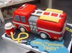 Image result for best fire truck cakes for little boys