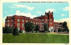 Salisbury North Carolina NC 1934 Catawba College Admin Bldg Vintage Postcard Salisbury North Carolina NC 1934 Administration building at Catawba College, founded 1851. Used Curteich antique vintage po