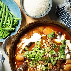 Matt Sinclair's Massaman Curry | Australian Beef - Recipes, Cooking Tips and More Massaman Curry Paste, Australian Beef, Batch Cooking, Cooking Tips, Beef Cheeks, Beef Curry, Gluten Free Banana, Curry Dishes, Beef Casserole