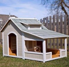 You can create a house for your dog child