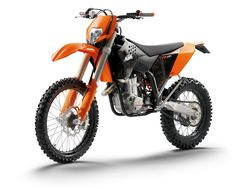 2009 KTM Motorcycle Range