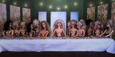 Pinturas famosas em versão Barbie | Catraca Livre