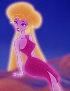 Disney Animation's depiction of Aphrodite from film Hercules (1997)