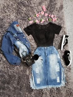 Swans Style is the top online fashion store for women. Shop sexy club dresses, jeans, shoes, bodysuits, skirts and more. Modest Wear, Modest Outfits, Skirt Outfits, Modest Fashion, Teen Fashion, Fashion Outfits, Stylish Dresses For Girls, Outfits For Teens, Trendy Outfits