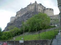 Edinburgh Castle in Scotland.    Home of the Stone of Destiny - aka the Stone of Scone on which the ancient Scottish kings sat during coronation ceremonies. It was thought that a worldly power would be handled down from the Gods