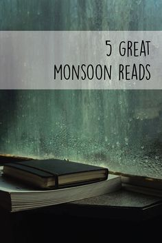 Four books to curl up with on your monsoon holiday. When it rains there's nothing better to do than curl up in bed with a good book and a cup of authentic Coorg coffee.  #monsoonholiday #travelcoorg