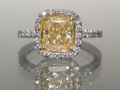Love a yellow diamond