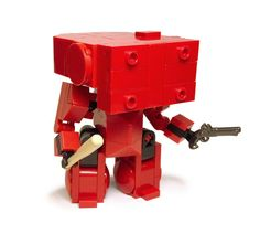 Super Punch: Lego Mech by Angus MacLane