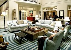 Something's Gotta Give living room-Arch Digest