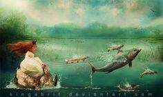 kinga britschgi | 15-Off-We-Go-Kinga-Britschgi-urreal-Fantasies-in-Artistic-Creations ...