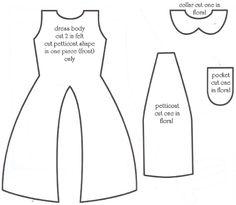 molde- vestido