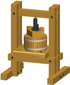 Dempsey Woodworking - How to make an Apple Cider Press. Apple Cider Press, Wood Projects, Woodworking Projects, Making Hard Cider, Distilling Alcohol, Wine Press, Vinager, Fruit Juicer, Home Brewing