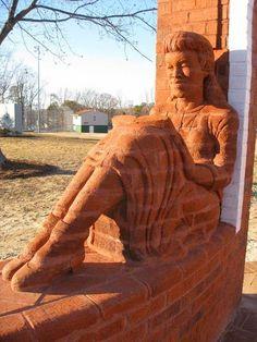 Brad Spencer. Sculptural bricks.