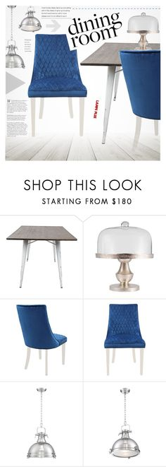 """Dining Room"" by pokadoll ❤ liked on Polyvore featuring interior, interiors, interior design, home, home decor, interior decorating, Mistral and dining room"
