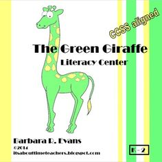 Cute literacy center about the hard and soft sounds of g.  $