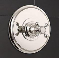 Restoration hardware bath on pinterest restoration for Restoration hardware bathroom faucets