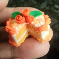 Polymer Clay Food Dollhouse Miniature by purpleshammrockshop, $27.00