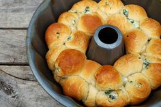 Cheesy Spinach Pull Apart Bread by firefly64, via Flickr